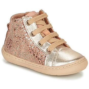 Chaussures Fille Boots Bisgaard VILLUM Rose