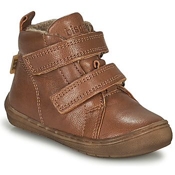 Chaussures Garçon Baskets montantes Bisgaard DEE Cognac