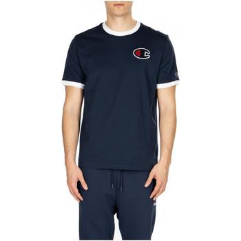 Vêtements Homme T-shirts manches courtes Champion CREWNECK T-SHIRT bs538-nvb-wht