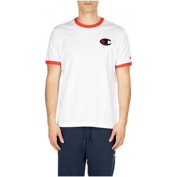 Vêtements Homme T-shirts manches courtes Champion CREWNECK T-SHIRT ww001-wht-fls