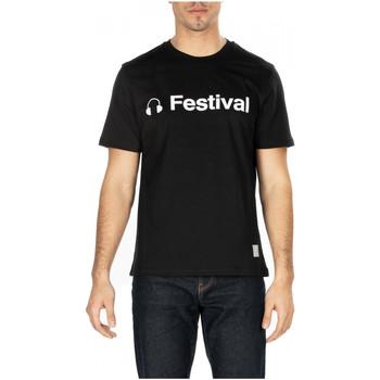 Vêtements Homme T-shirts manches courtes Department Five T-SHIRT GARS cc999-nero