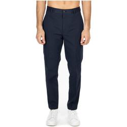 Vêtements Homme Chinos / Carrots Department Five GEORGE PANTALONE CHINOS MORBIDO cc817-blue-black