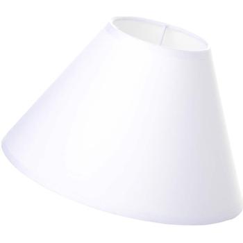 Maison & Déco Lampes à poser Retro Abat-jour Blanc Blanc