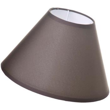 Maison & Déco Lampes à poser Retro Abat-jour Chocolat 22 cm Marron