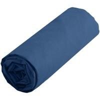 Maison & Déco Draps housse Lovely Casa Drap housse Jean uni 160 x 200 cm Bleu