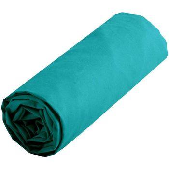 Maison & Déco Draps housse Lovely Casa Drap housse uni 140 x 190 cm - Bleu Canard Bleu