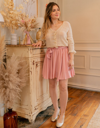 Vêtements Femme Jupes Céleste EGLANTINE Rose