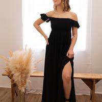 Vêtements Femme Robes longues Céleste PATCHOULI Noir