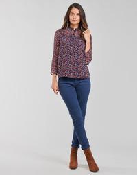 Vêtements Femme Pantalons 5 poches One Step FT22021 Marine