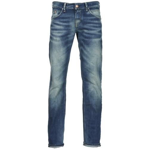 Vêtements Homme Jeans droit Meltin'pot MARTIN Bleu clair