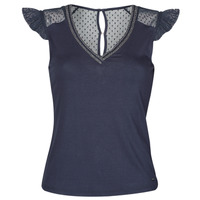 Vêtements Femme T-shirts manches courtes Morgan DUCHES Marine