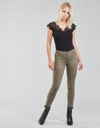 Vêtements Femme Pantalons 5 poches Morgan PETRA Thym