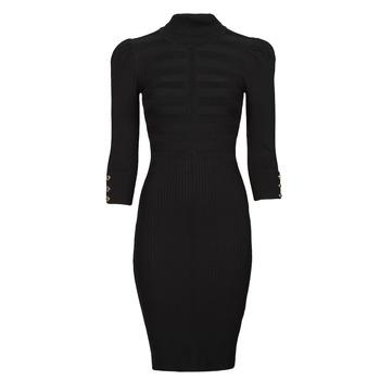 Vêtements Femme Robes courtes Morgan RMTO Noir