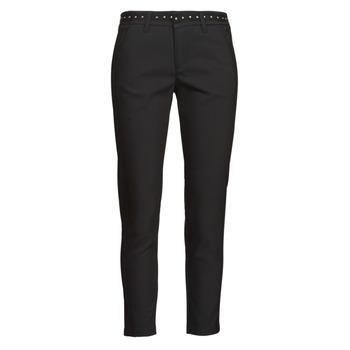 Vêtements Femme Pantalons 5 poches Freeman T.Porter CLAUDIA POLYNEO Noir
