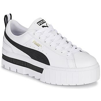 Chaussures Femme Baskets basses Puma MAYZE Blanc / Noir