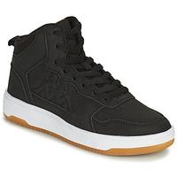 Chaussures Garçon Baskets montantes Kappa SEATTLE MID Noir