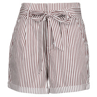 Vêtements Femme Shorts / Bermudas Vero Moda VMEVA Blanc / Marron