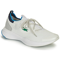 Chaussures Homme Baskets basses Lacoste RUN SPIN KNIT 0121 1 SMA Blanc / Bleu