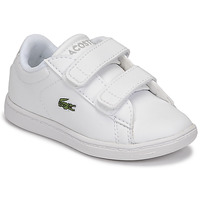 Chaussures Enfant Baskets basses Lacoste CARNABY EVO BL 21 1 SUI Blanc