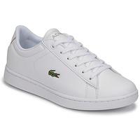 Chaussures Enfant Baskets basses Lacoste CARNABY EVO BL 21 1 SUJ Blanc