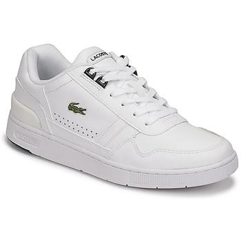 Chaussures Femme Baskets basses Lacoste T-CLIP 0121 2 SFA Blanc