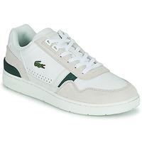 Chaussures Homme Baskets basses Lacoste T-CLIP 0120 3 SMA Blanc / Beige
