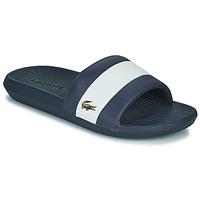 Chaussures Homme Claquettes Lacoste CROCO SLIDE 120 3 US CMA Bleu / Blanc