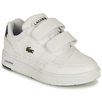 Chaussures Enfant Baskets basses Lacoste T-CLIP 0121 1 SUI Blanc