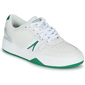 Chaussures Femme Baskets basses Lacoste L001 0321 1 SFA Blanc / Vert