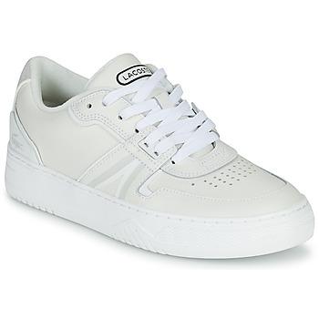 Chaussures Femme Baskets basses Lacoste L001 0321 1 SFA Blanc