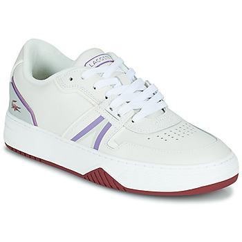 Chaussures Femme Baskets basses Lacoste L001 0321 1 SFA Blanc / Violet