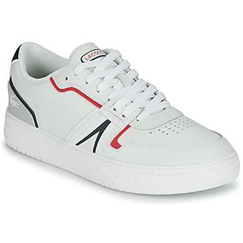 Chaussures Homme Baskets basses Lacoste L001 0321 1 SMA Blanc / Rouge / Bleu