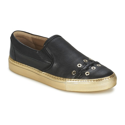 Chaussures Femme Slips on Sonia Rykiel MINI ŒILLETS Noir