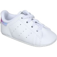 Chaussures Garçon Baskets basses adidas Originals Basket garçon A lacets Blanc