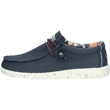 Chaussures Homme Mocassins Dude WALLY SOX BASKETS homme Bleu