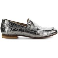 Chaussures Femme Mocassins Strategia Mocassin Croco Print Grey