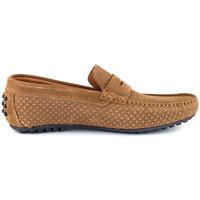 Chaussures Homme Mocassins J.bradford JB-CLIPPER COGNAC Marron