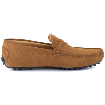 Chaussures Homme Mocassins J.bradford OSIRIS COGNAC Marron