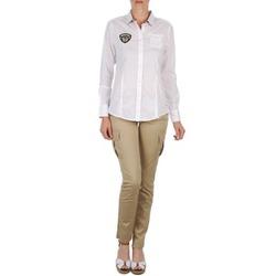 Vêtements Femme Pantalons 5 poches Napapijri MYOSA Beige