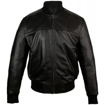 Vêtements Homme Vestes en cuir / synthétiques Zerimar TRAINSPOTTING Noir