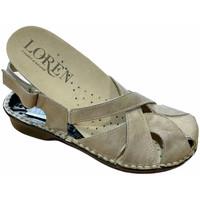 Chaussures Femme Sandales et Nu-pieds Calzaturificio Loren LOM2867tor tortora