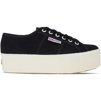 Chaussures Femme Baskets basses Superga 2790-Cotw Linea Up And Down Noir