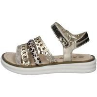 Chaussures Fille Sandales et Nu-pieds Asso AG-10901 PLATINE