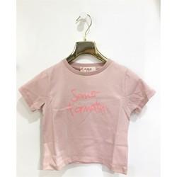 Vêtements Fille T-shirts manches courtes Vicolo 3146M0384 T-shirt Enfant ROSE POUDRE ROSE POUDRE