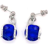 Montres & Bijoux Femme Boucles d'oreilles Andrea Marazzini Boucles  Cherry Majestic Blue Blanc