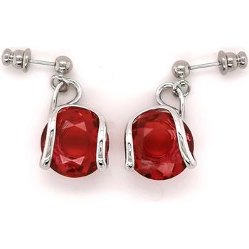 Montres & Bijoux Femme Boucles d'oreilles Andrea Marazzini Boucles d'oreilles  Cherry Red Blanc