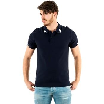 Vêtements Homme Polos manches courtes Aigle lenapa 10 marine bleu