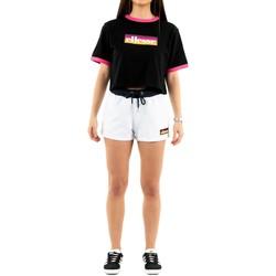 Vêtements Femme Shorts / Bermudas Ellesse tang 908 white blanc