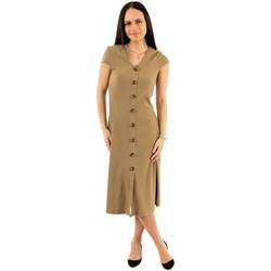 Vêtements Femme Robes longues Only nella toasted coconut beige