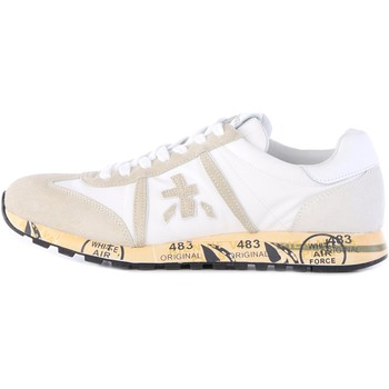 Chaussures Homme Baskets basses Premiata LUCY baskets homme blanc blanc